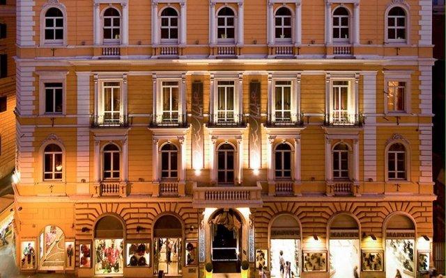 Отель La Griffe Roma MGallery Collection Италия, Рим - 5 отзывов об отеле, цены и фото номеров - забронировать отель La Griffe Roma MGallery Collection онлайн вид на фасад