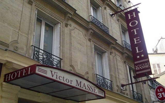 Hotel Victor Massé вид на фасад