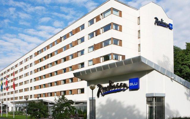 Radisson Blu Park Hotel, Oslo вид на фасад