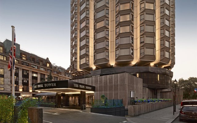 The Park Tower Knightsbridge, A Luxury Collection Hotel вид на фасад