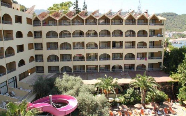 Golmar Beach Турция, Мармарис - отзывы, цены и фото номеров - забронировать отель Golmar Beach онлайн вид на фасад