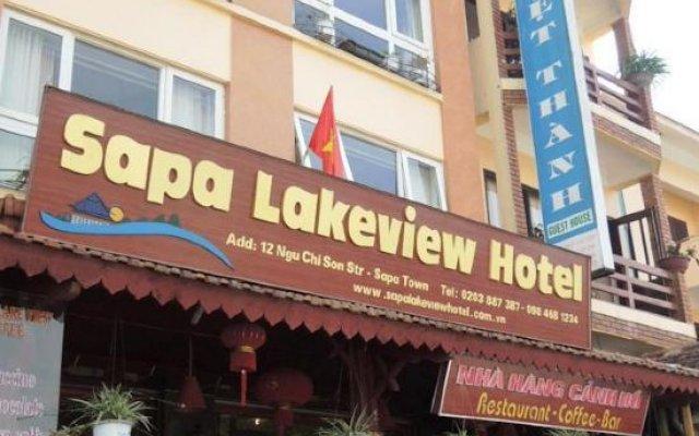 Отель Sapa Lake View Hotel Вьетнам, Шапа - отзывы, цены и фото номеров - забронировать отель Sapa Lake View Hotel онлайн вид на фасад