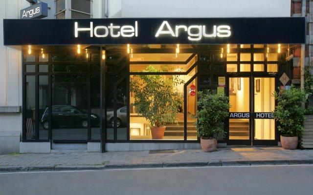 Argus Hotel Brussels Брюссель вид на фасад