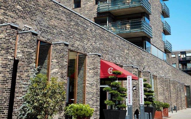 Отель Charlottehaven Копенгаген вид на фасад