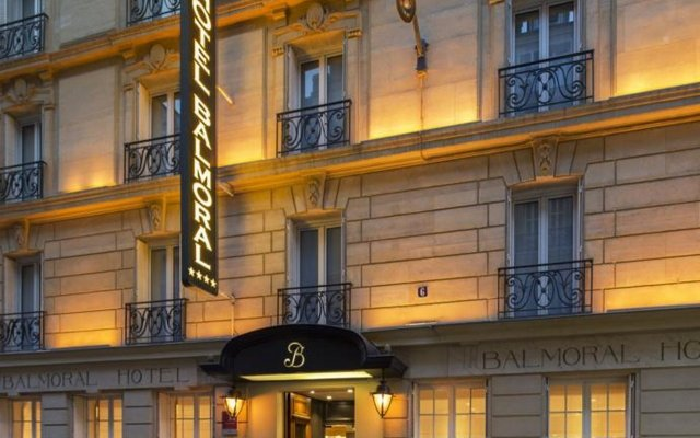 Hotel Balmoral - Champs Elysees Париж вид на фасад