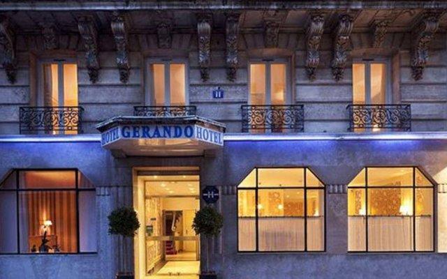 Отель GERANDO Париж вид на фасад