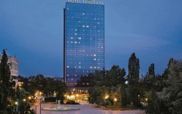 Panorama Zagreb Hotel вид на фасад