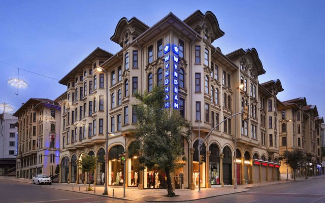 Отель Crowne Plaza Istanbul - Old City Стамбул вид на фасад