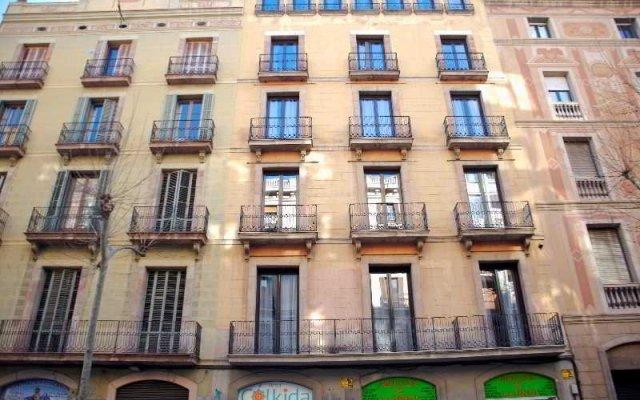 Отель Hostal Agua Alegre вид на фасад