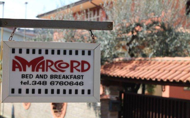 Отель Amarcord B&B вид на фасад