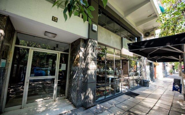 Отель Art Maison Греция, Салоники - отзывы, цены и фото номеров - забронировать отель Art Maison онлайн вид на фасад