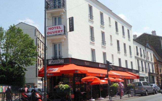 Отель Café Hôtel de lAvenir вид на фасад