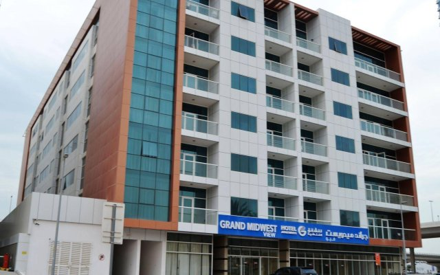 Grand Midwest View Hotel Apartments вид на фасад