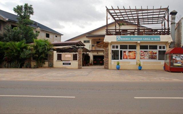 Отель Afrikiko Turkish Restaurant & Guesthouse вид на фасад
