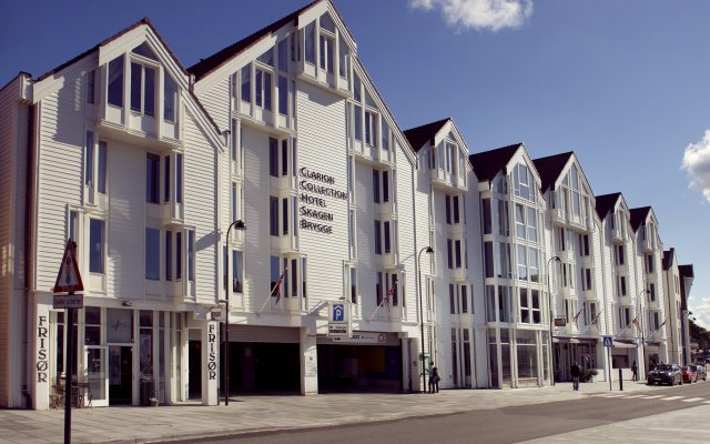 Clarion Collection Hotel Skagen Brygge вид на фасад