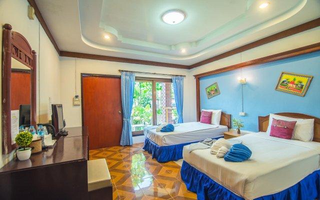 Отель Lanta Nice Beach Resort Ланта комната для гостей
