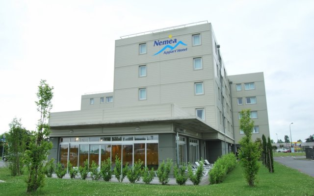 Отель Nemea Appart'Hotel Toulouse Saint-Martin Франция, Тулуза - отзывы, цены и фото номеров - забронировать отель Nemea Appart'Hotel Toulouse Saint-Martin онлайн вид на фасад