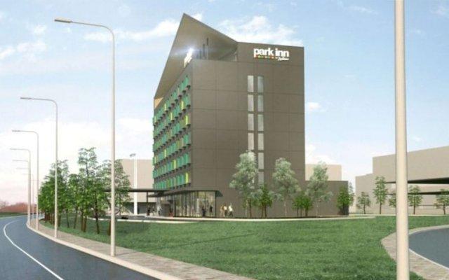 Park Inn by Radisson Vilnius Airport Hotel & Business Centre Вильнюс вид на фасад
