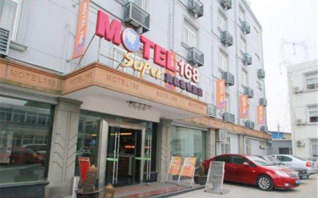 Отель Motel Shanghai West Gaoke Road New International Expo Centre вид на фасад