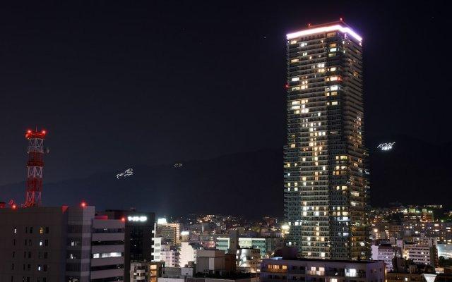 Kobe Sannomiya Union Hotel Кобе вид на фасад