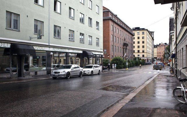 Апартаменты Forenom Apartments City Centre вид на фасад