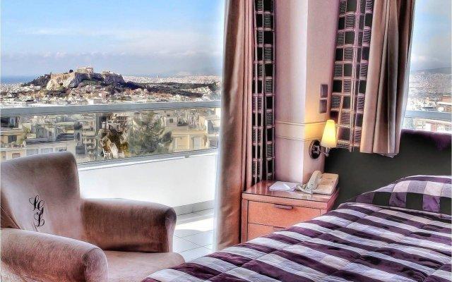 Отель St George Lycabettus Греция, Афины - отзывы, цены и фото номеров - забронировать отель St George Lycabettus онлайн комната для гостей