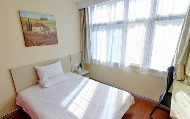 Отель Hanting Hotel Beijing Liufang Branch Китай, Пекин - отзывы, цены и фото номеров - забронировать отель Hanting Hotel Beijing Liufang Branch онлайн вид на фасад