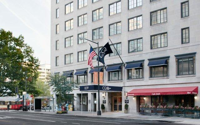Отель Club Quarters in Washington DC США, Вашингтон - отзывы, цены и фото номеров - забронировать отель Club Quarters in Washington DC онлайн вид на фасад