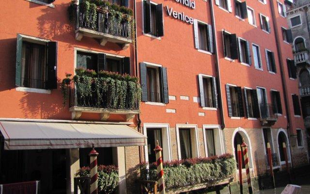 Отель Starhotels Splendid Venice Венеция вид на фасад