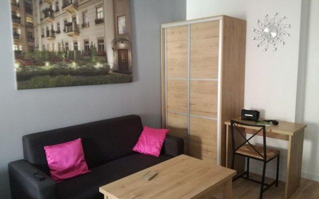 Апартаменты Novitas Apartments Вроцлав комната для гостей