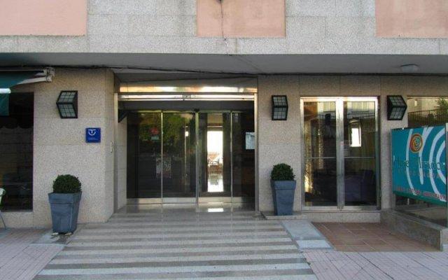 Отель Mirador Ria de Arosa вид на фасад