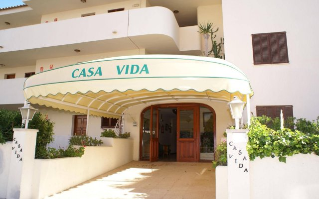 Отель Apartamentos Delfin Casa Vida вид на фасад