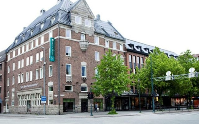 Отель Quality Hotel Augustin Норвегия, Тронхейм - отзывы, цены и фото номеров - забронировать отель Quality Hotel Augustin онлайн вид на фасад