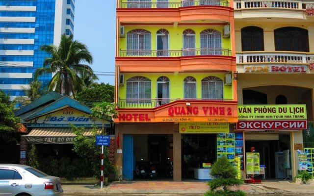 Quang Vinh 2 Hotel Нячанг вид на фасад