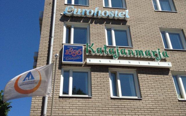 Отель Eurohostel вид на фасад