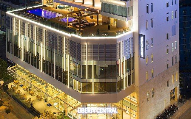 Отель Liberty Central Nha Trang Нячанг вид на фасад