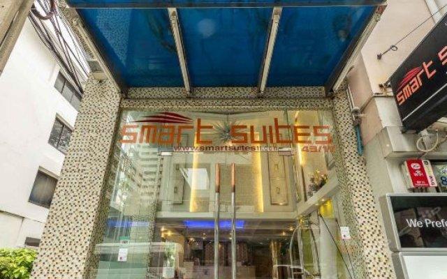 Отель Smart Suites Bangkok Бангкок вид на фасад