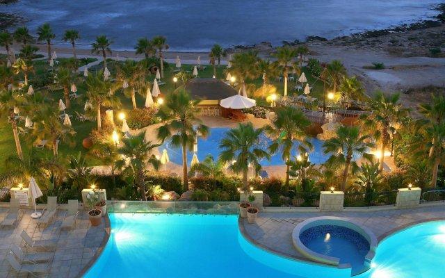 Aquamare Beach Hotel & Spa вид на фасад