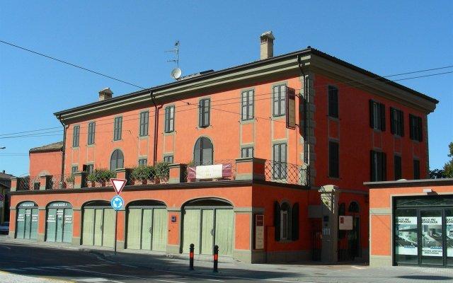 Отель Residence Corte della Vittoria Италия, Парма - отзывы, цены и фото номеров - забронировать отель Residence Corte della Vittoria онлайн вид на фасад