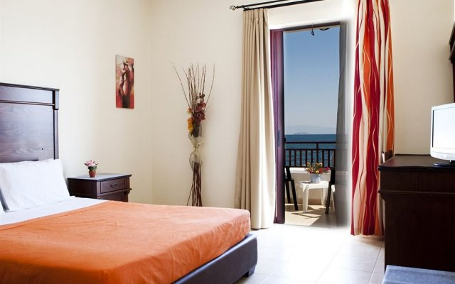 Отель Laza Beach Inn Греция, Агистри - отзывы, цены и фото номеров - забронировать отель Laza Beach Inn онлайн комната для гостей