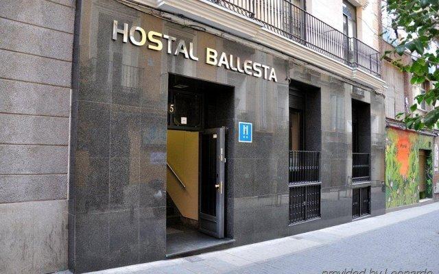 Отель Hostal Ballesta Испания, Мадрид - 3 отзыва об отеле, цены и фото номеров - забронировать отель Hostal Ballesta онлайн вид на фасад