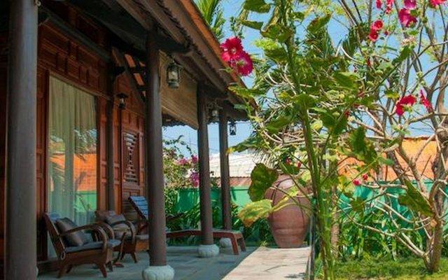 Отель Ao Lang Villa Хойан вид на фасад