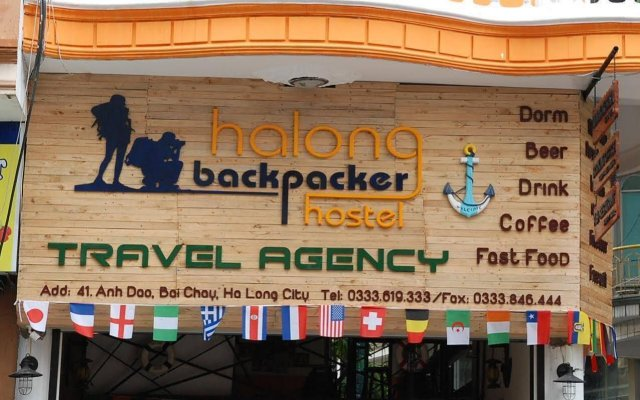 Halong Backpackers Hostel вид на фасад