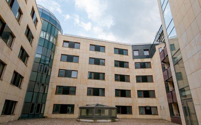 Отель EXCLUSIVE Aparthotel вид на фасад