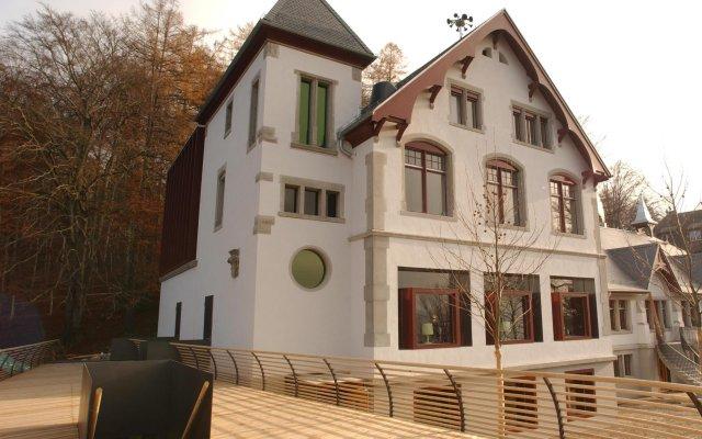 Отель Sorell Aparthotel Rigiblick Цюрих вид на фасад