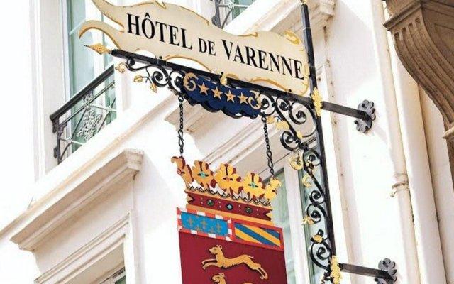 Отель De Varenne Франция, Париж - 1 отзыв об отеле, цены и фото номеров - забронировать отель De Varenne онлайн вид на фасад