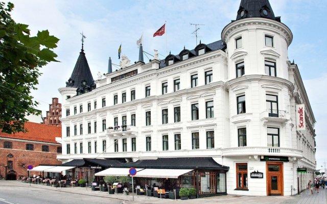 Отель Scandic Kramer Мальме вид на фасад