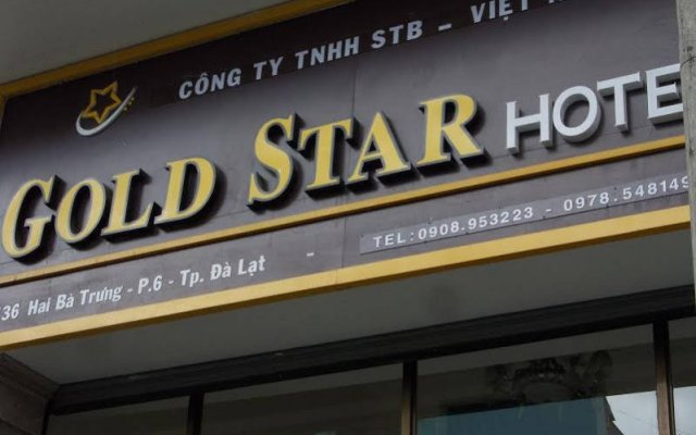 Gold Star Hotel Далат вид на фасад