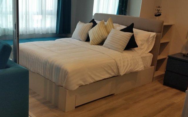 Отель Centric Sea Condo Pattaya комната для гостей