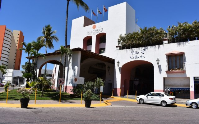 Отель Villas Vallarta By Canto Del Sol Пуэрто-Вальярта вид на фасад